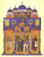 raffigurazione della Gerusalemme celeste